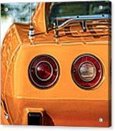 1977 Chevrolet Corvette Acrylic Print