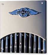 1977 Morgan Plus 4 Hood Emblem Acrylic Print