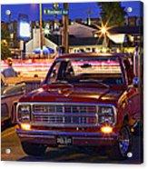 1979 Dodge Li'l Red Express Truck Acrylic Print