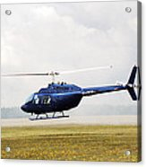 1980 Bell Helicopter Textron Bell 206b Acrylic Print