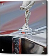 1984 Rolls-royce Silver Spur Hood Ornament Acrylic Print