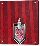 1988 Monte Carlo Ss Crest And Shield Emblem Acrylic Print