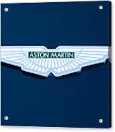 1997 Aston Martin Emblem Acrylic Print