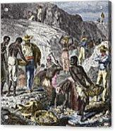 19th-century Diamond Mining, Brazil Acrylic Print