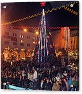 1st International Christmas Festival Acrylic Print