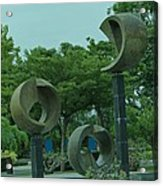 Thonburirom Park Bkk Of Thailand Acrylic Print
