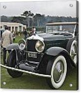 1929 Minerva Type Am Murphy Convertible Sedan Acrylic Print