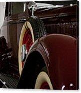 1933 Dodge Dp Rs 2 Door Coupe Acrylic Print