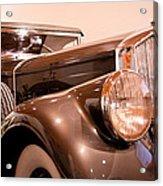 1933 Pierce-arrow 12 Model 12412 Labaron Convertible Coupe Acrylic Print