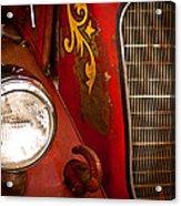 1941 Hahn Open Cab Fire Engine Acrylic Print