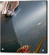 1955 Cadillac Eldorado 2 Door Convertible Acrylic Print by David Patterson