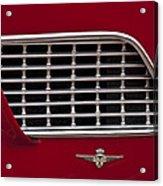 1960 Maserati 3500 Gt Coupe Emblem Acrylic Print