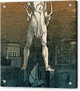 7 Wonders Of The World, Colossus Acrylic Print