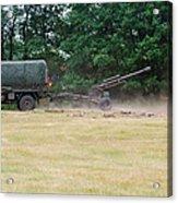 A Belgian Artillery Unit Setting Acrylic Print