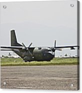 A German Air Force Transall C-160 Taxis Acrylic Print
