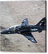 A Hawk Jet Trainer Aircraft Acrylic Print