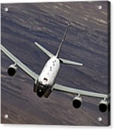 A U.s. Air Force Rc-135 Rivet Joint Acrylic Print