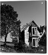 Abandoned House Acrylic Print by Cale Best