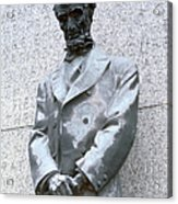 Abraham Lincoln Statue Acrylic Print by Granger