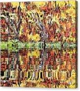 Abstract Artwork Acrylic Print