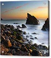 Adraga Beach Acrylic Print