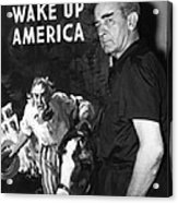 American Artist And Cartoonist James Acrylic Print