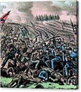 American Civil War, Battle Acrylic Print