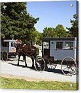 Amish Buggies Acrylic Print