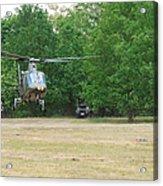 An Agusta A109 Helicopter Acrylic Print