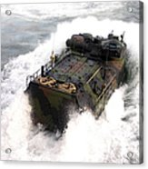 An Amphibious Assault Vehicle Acrylic Print