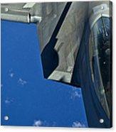 An F-22 Raptor In Flight Acrylic Print