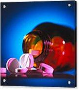 Analgesic Pills Acrylic Print