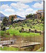 Andalusia Landscape Acrylic Print