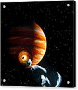 Artwork Of First Comet Impacts On Jupiter, 1994 Acrylic Print