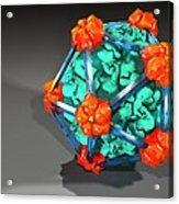 Bacteriophage Alpha 3, Artwork Acrylic Print