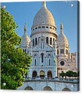Basilique Du Sacre Coeur Acrylic Print