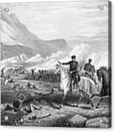 Battle Of Buena Vista, 1847 Acrylic Print by Granger