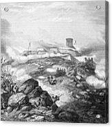 Battle Of Chapultepec, 1847 Acrylic Print
