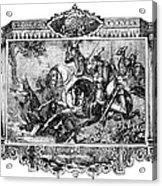 Battle Of Fallen Timbers Acrylic Print by Granger