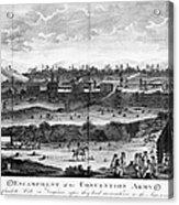 Battle Of Saratoga, 1777 Acrylic Print
