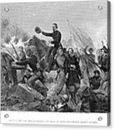 Battle Of Spotsylvania Acrylic Print