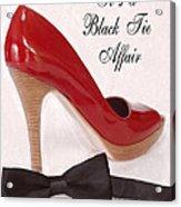 Black Tie Affair Acrylic Print by Anne Kitzman