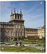 Blenheim Palace Acrylic Print