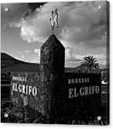 Bodegas El Grifo  Acrylic Print