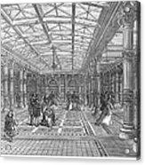 Brighton Aquarium, 1872 Acrylic Print