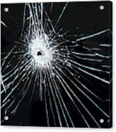 Broken Glass Acrylic Print