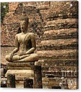 Buddha At Sukhothai Acrylic Print