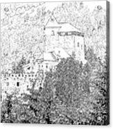 Burg Reifenstein Sterzing Italy Acrylic Print