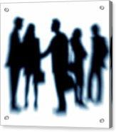Business People Acrylic Print