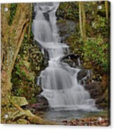 Buttermilk Falls Acrylic Print by Stephen  Vecchiotti